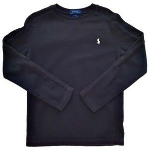 Boys Cotton Crewneck Pullover Sweater
